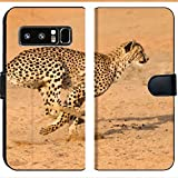 Samsung Galaxy Note 8 Flip Fabric Wallet Case Running at Full Speed in South Africa Acinonyx jubatus Image 33943583 Customized Tablem