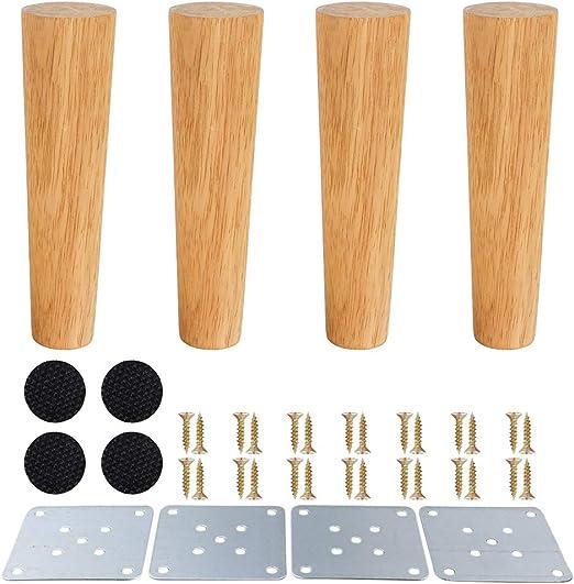 Patas de muebles de madera, patas de madera para armarios y mesas ...