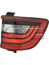 TYC 11-6677-00-1 Replacement right Tail Lamp (DODGE DURANGO), 1 Pack