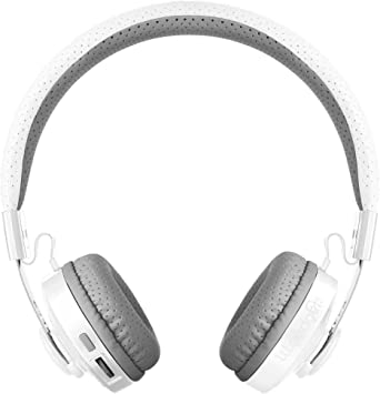 Amazon Com Lilgadgets Untangled Pro Kids Premium Wireless Bluetooth Headphones With Shareport And Microphone Children White Home Audio Theater