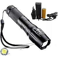 Lanterna Tática X-900 com Sinalizador
