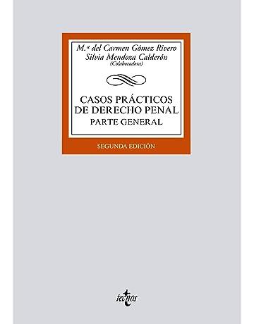 Casos prácticos de Derecho penal: Parte General (Derecho - Biblioteca Universitaria De Editorial Tecnos