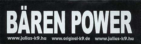 bärem Power 2 x velcro etiquetas/sustitución logotipos/pequeño ...