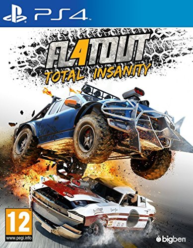 FlatOut 4 Total Insanity (PS4) (UK IMPORT) (Demolition Derby Xbox 360)