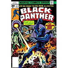 Black Panther No.2 Cover: Black Panther, Princess Zanda and Hatch-22 Charging Poster by Jack Kirby 24 x 36in