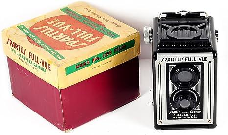 Spartus full-vue doble lente reflex cámara en caja original: Amazon.es: Electrónica