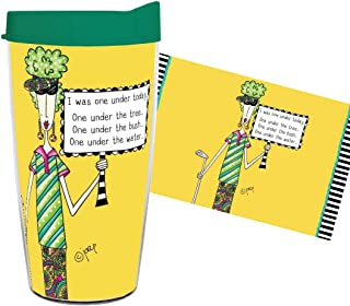 product image for Smile Drinkware USA- Dolly Mama-Dolly Mamas I Was One Under Today, One Under the Tree, One Under the Bush, One Under the Water 16oz tumbler with lid and straw