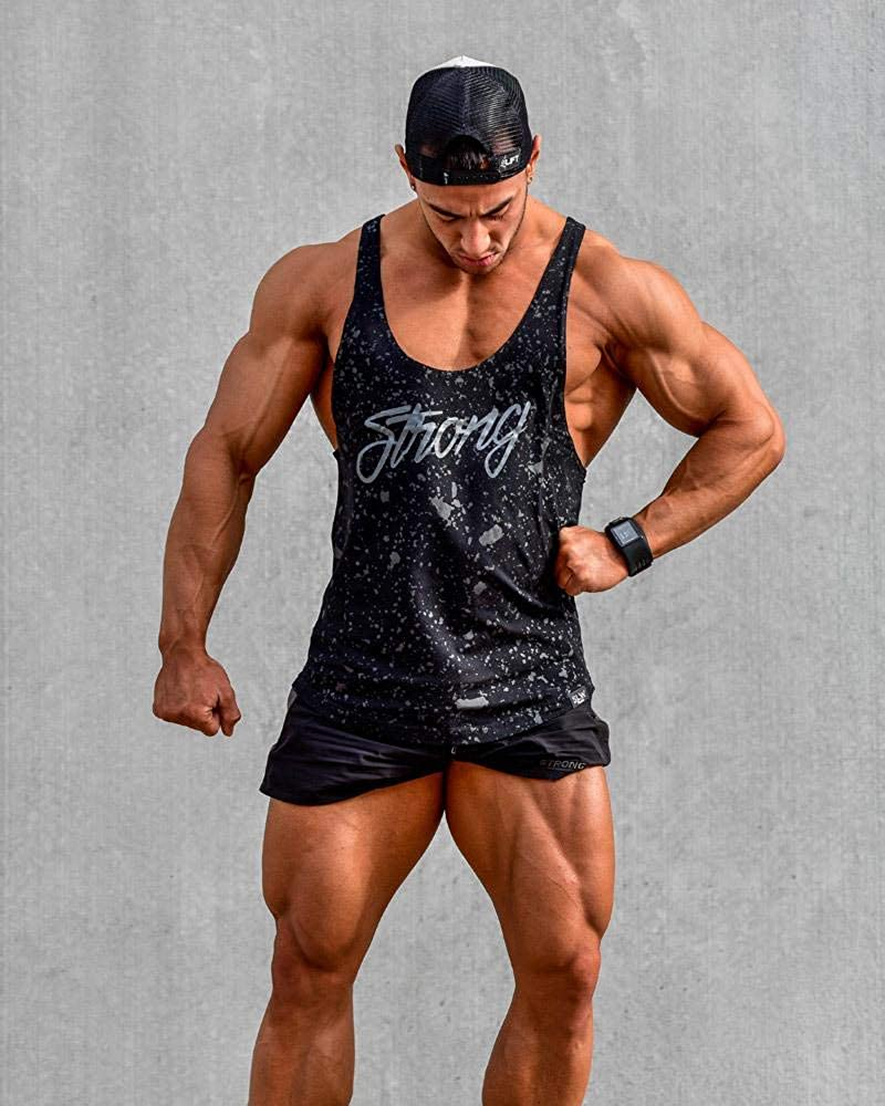 M/änner Gym Fitness Tank Top /Ärmellos Sport L/ässig Jogging Weste T-Shirt