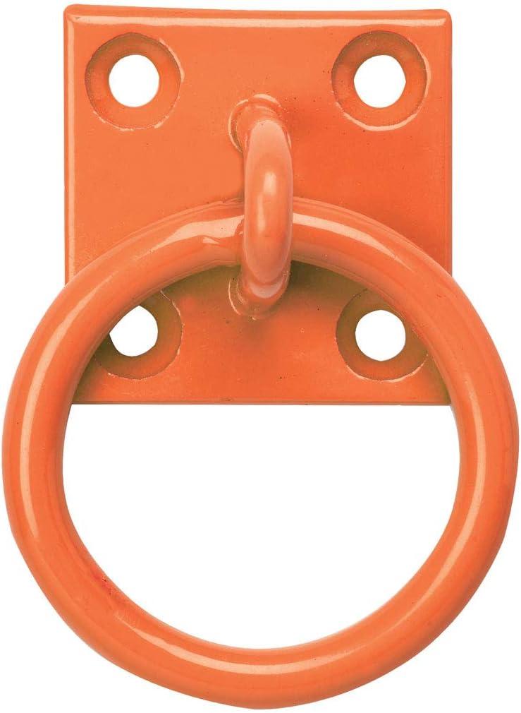 Perry Equestrian 515-PP0000RD Lot de 2 cha/înes sur plaque Rouge 50 x 50 mm