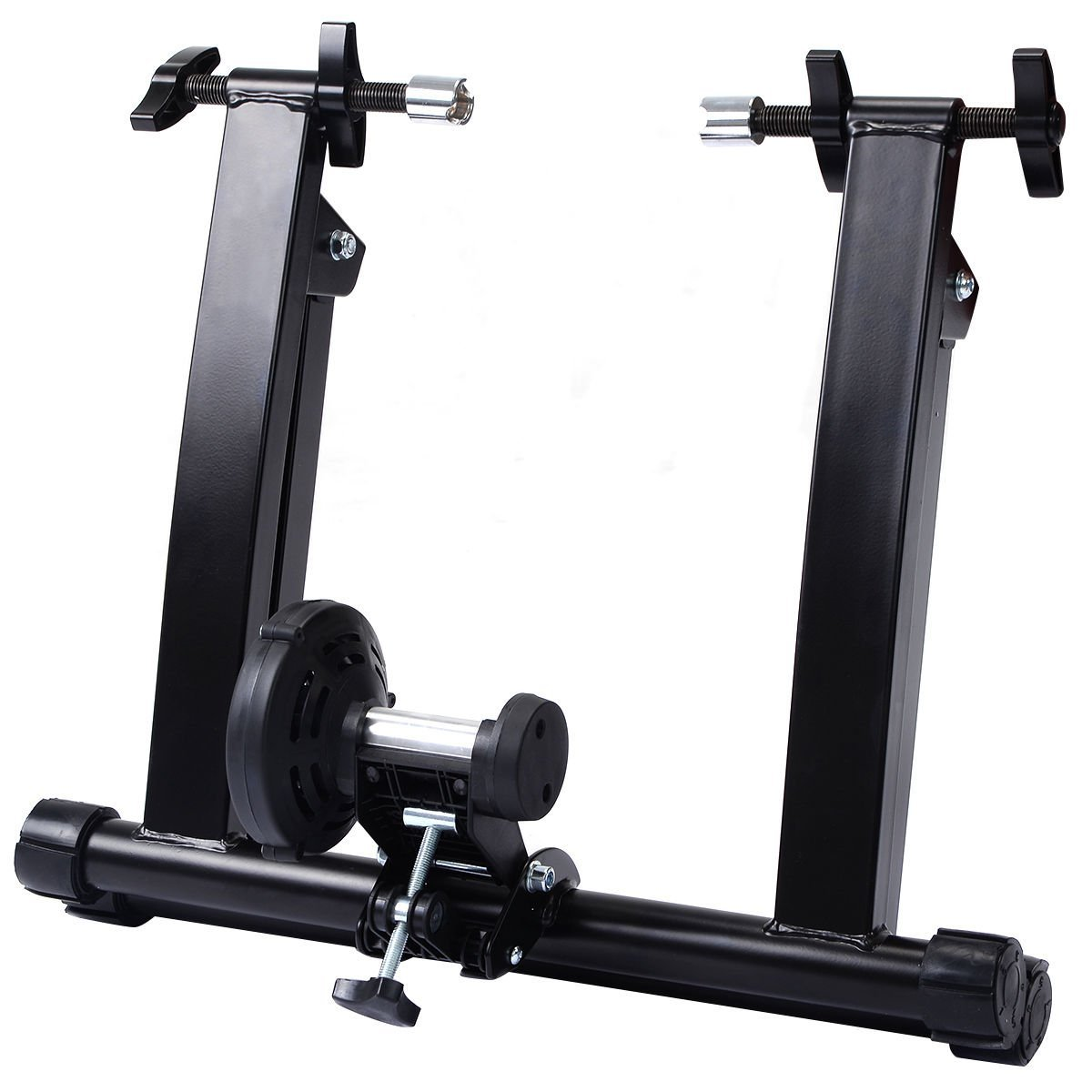 Goplus Portable Magnet Steel Bike/Bicycle Indoor Exercise Trainer Stand by Goplus (Image #2)