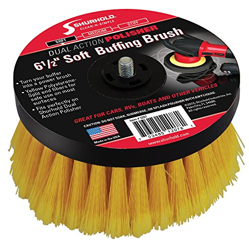 "Shurhold 6-½"" Soft Brush f/Dual Action Polisher"