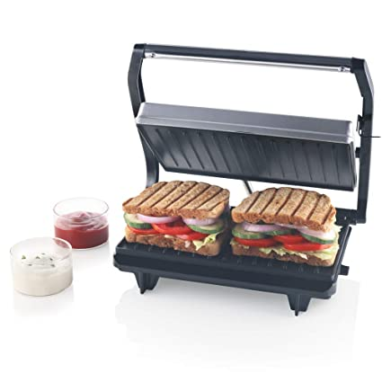 Buy Borosil Prime Bgrillps11 Grill Sandwich Maker Grey Online At Low Prices In India Amazon In