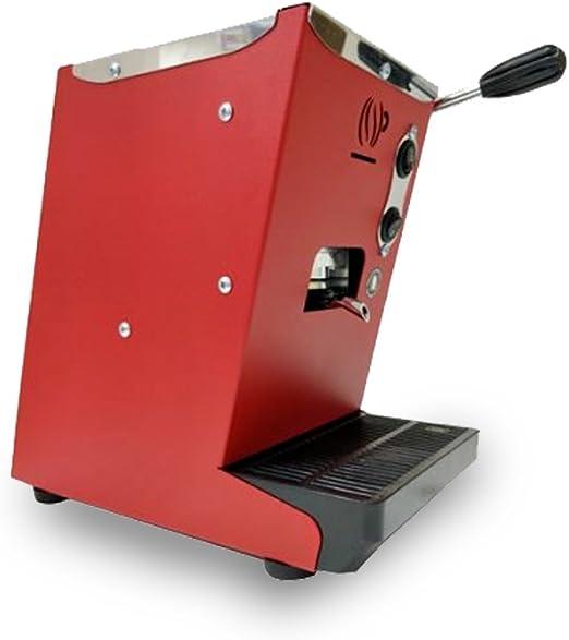 Máquina de café de monodosis ESE 44 mm Lollo Café lollina roja + ...