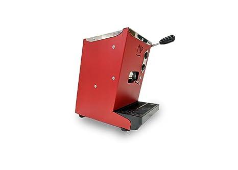 Máquina de café de monodosis ESE 44 mm Lollo Café lollina roja + 40 Cápsulas de