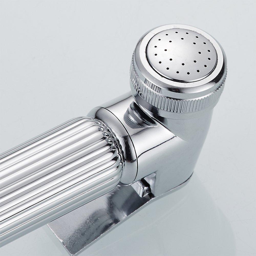 Windyeu Bidet WC Vaporisateur haute pression Douchette WC pour hygi/ène intime de nettoyage de salle de bain pour animal domestique de bain Vaporisateur Pomme de douche