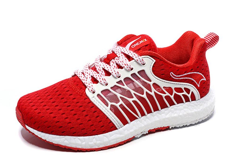 UB-ONEMIX Lightweight Outdoor Breathable Mesh Sport Running Walking Shoes B07CKC4PPJ 8.5 D(M) US=Foot Length 10.43