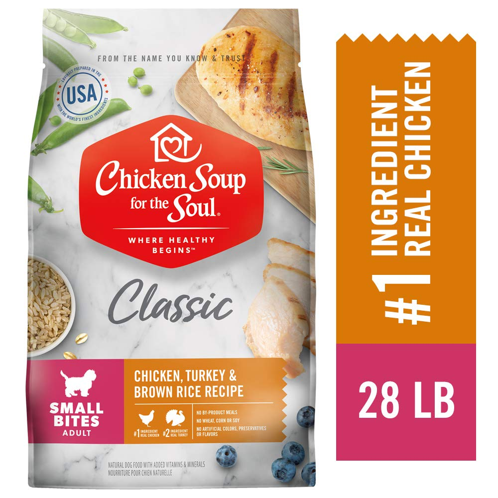 Chicken Soup for the Soul Small Bites Dry Dog Food - Chicken