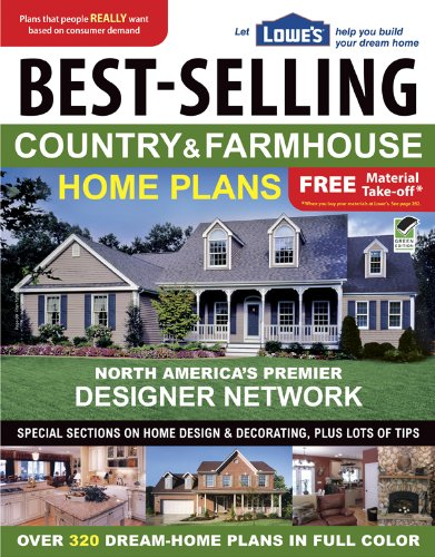 Lowe's Best-Selling Country & Farmhouse Home Plans (English and English Edition)