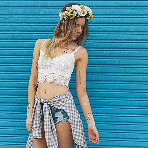 Tattify Travel Themed Temporary Tattoos - Wanderlust (Set of 2) - Other Styles Available and Fashionable Temporary (Time Travel Day Costume Ideas)