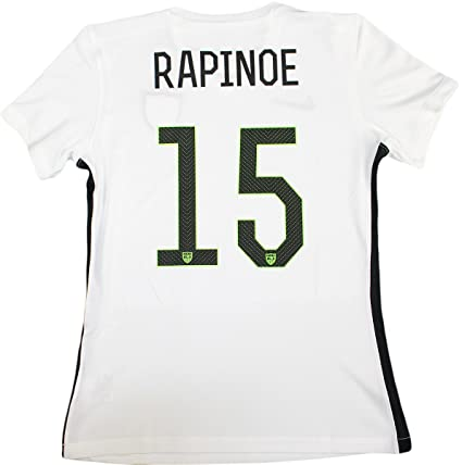 91b07fc5ddc Megan Rapinoe USA Women s Home White Nike Star Jersey (Unsigned) at  Amazon s Sports Collectibles Store