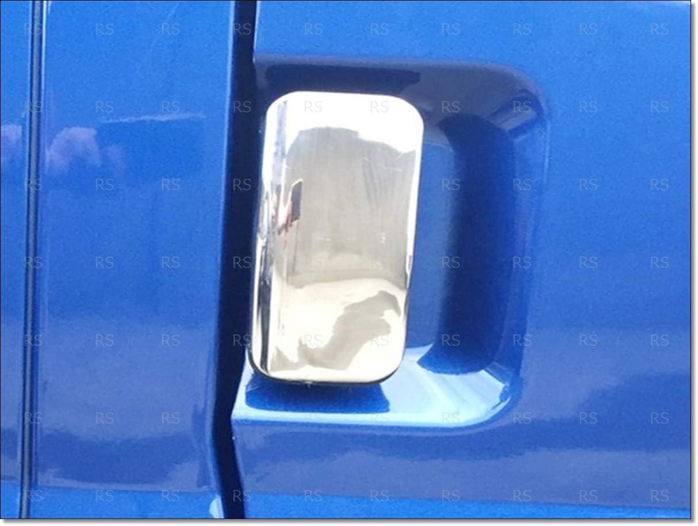 Cubierta cromada para tirador de puerta de acero para TRANSIT MK6 MK7 de 2000 a 2014