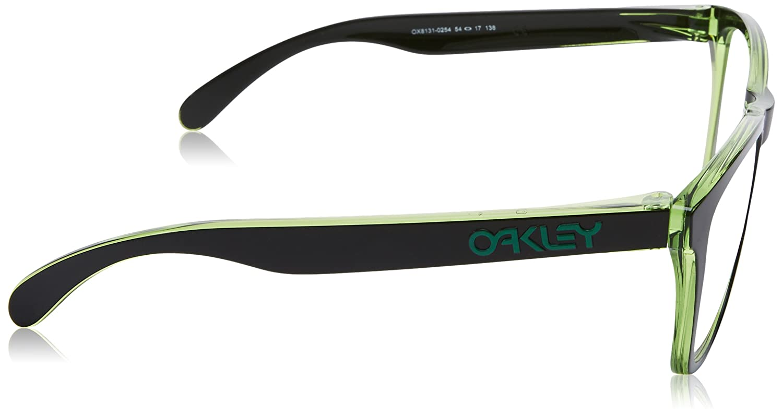 a067214cd7 Amazon.com  Oakley OX8131-813102 Eyeglass Frame RX FROGSKINS ECLIPSE GREEN DEMO  LENS 54mm  Clothing