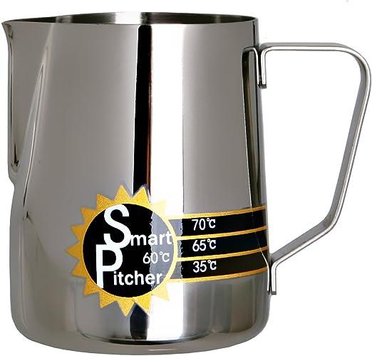 Amazon.com: Smart Pitcher Espresso jarra para leche espumosa ...