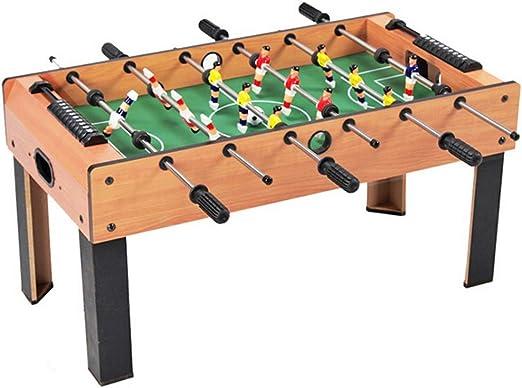 YIHGJJYP Futbolin Adulto 6-Bar Futbolín Máquina de Entretenimiento Interior Tablero Juego Madera Juguete para Padres e Hijos Rompecabezas 3-8 años Juguetes niños: Amazon.es: Hogar