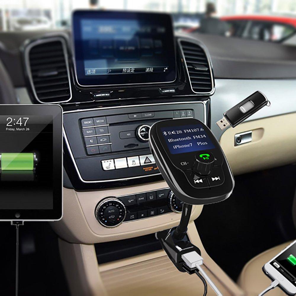 Anbero FM Transmitter Bluetooth Freisprecheinrichtung: Amazon.de ...