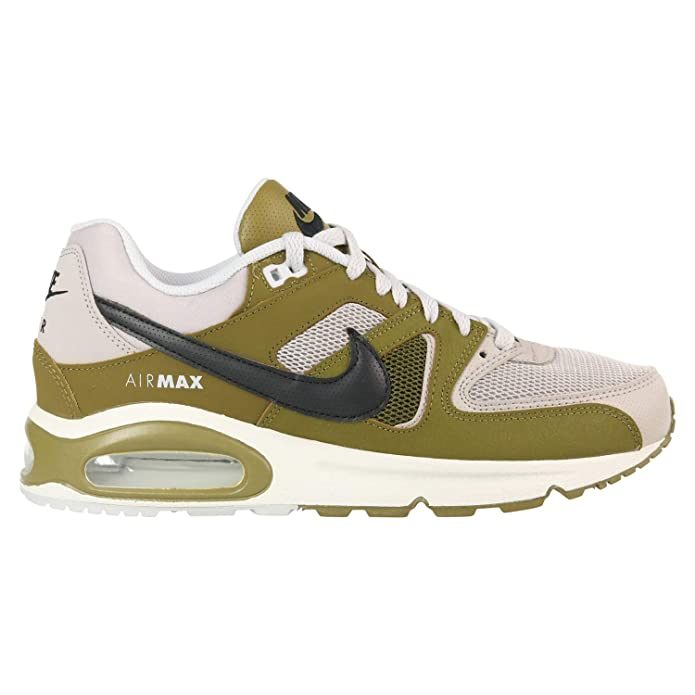Nike Air Max Command Herren Sneaker Lauf-Schuhe Olivgrün/grau