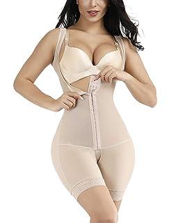 42e821b88 Lover-Beauty Tummy Control Shapewear Open Bust Bodysuit Seamless Body Shaper  (S-5XL