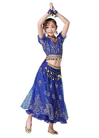 Grouptap Bollywood Indio niña niños Folk bharatanatyam Danza ...