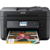Epson Workforce WF-2860 All-in-One Wireless Color Printer with Scanner, Copier, Fax, Ethernet, Wi-Fi Direct and NFC, Amazon D