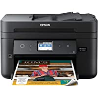 Epson Workforce WF-2860 All-in-One Wireless Color Printer with Scanner, Copier, Fax, Ethernet, Wi-Fi Direct and NFC…