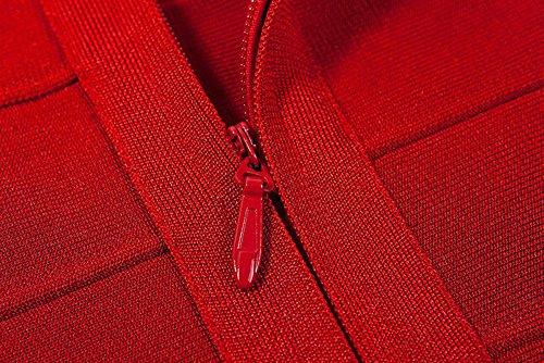 Rosso Abito Unknown Unknown fasciante Abito Donna qX7Bx