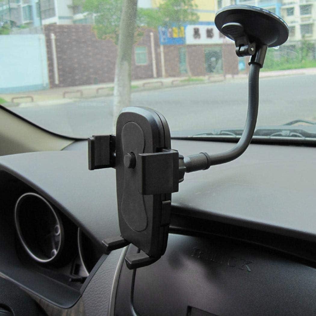 Cidere Windshield Mobile Phone Car Mount Bracket Holder Locking S Portable Device Car Mounts