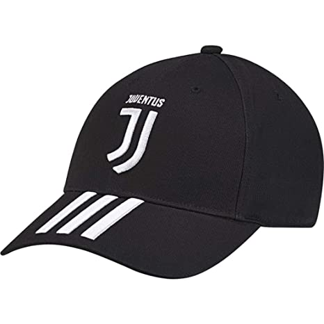 adidas 2018-2019 Juventus 3S Cap (Black)