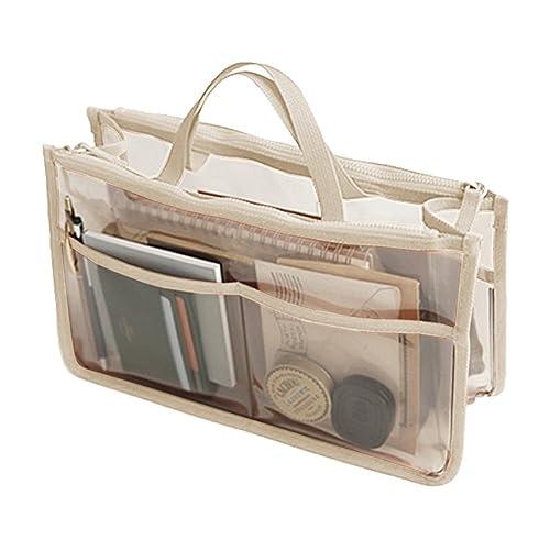 THEE Bolsa Transparente Impermeable de Coméstico Organizador de Viaje