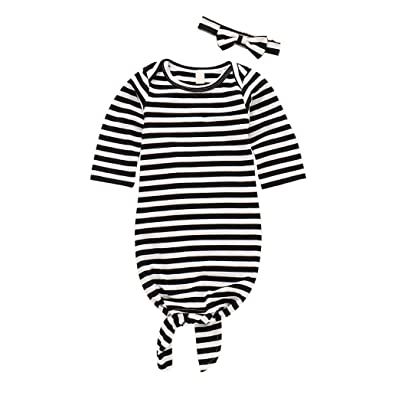 Amazon.com: Bebé recién nacido bebé niña niño ropa de ...