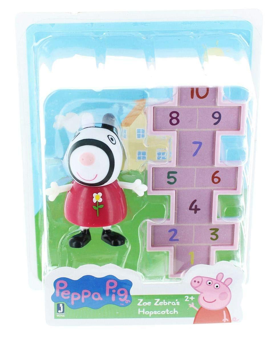 Buy Peppa Pig Friends And Fun Zoe Zebra S Hopscotch Toy Figure