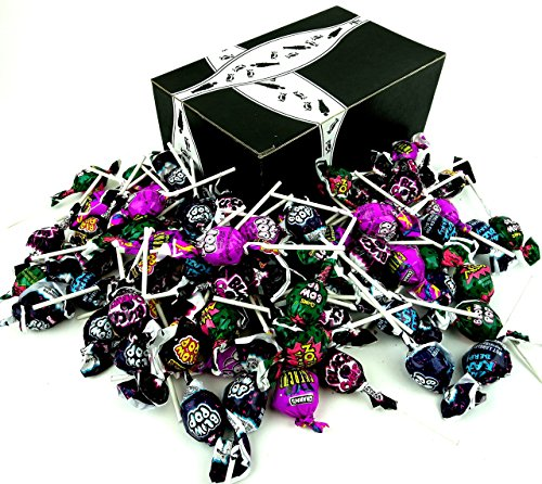 Charms Blow Pops 4-Flavor Variety: One 44 oz Bag (80 Count) in a BlackTie Box ()