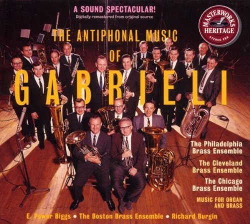 The Antiphonal Music of Gabrieli by Sony Classical ()