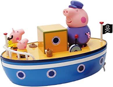 Peppa Pig - Barco del Abuelo Pig (Bandai 84258): Amazon.es