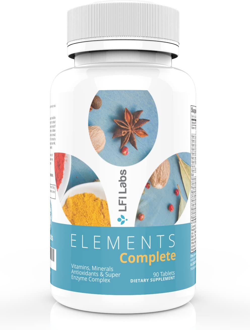 Elements Complete Best Multivitamin Superfood The Most Complete Vitamin-Mineral-Antioxidant-Probiotic-Enzyme-Superfood Blend. The ultimate All-In-One.