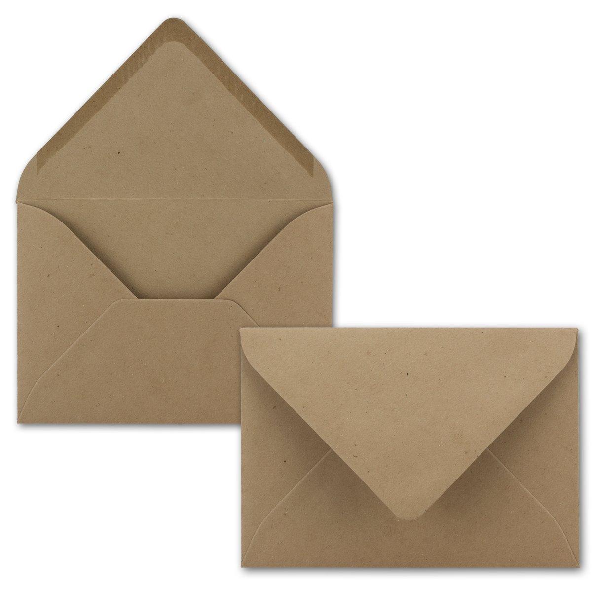 200x Stück Karte-Umschlag-Set Einzel-Karten Din A7 10,5x7,3 10,5x7,3 10,5x7,3 cm 240 g m² Dunkelgrün mit Brief-Umschlägen C7 Nassklebung ideale Geschenkanhänger B07MQ4T5GM | Nicht so teuer  85b2f5