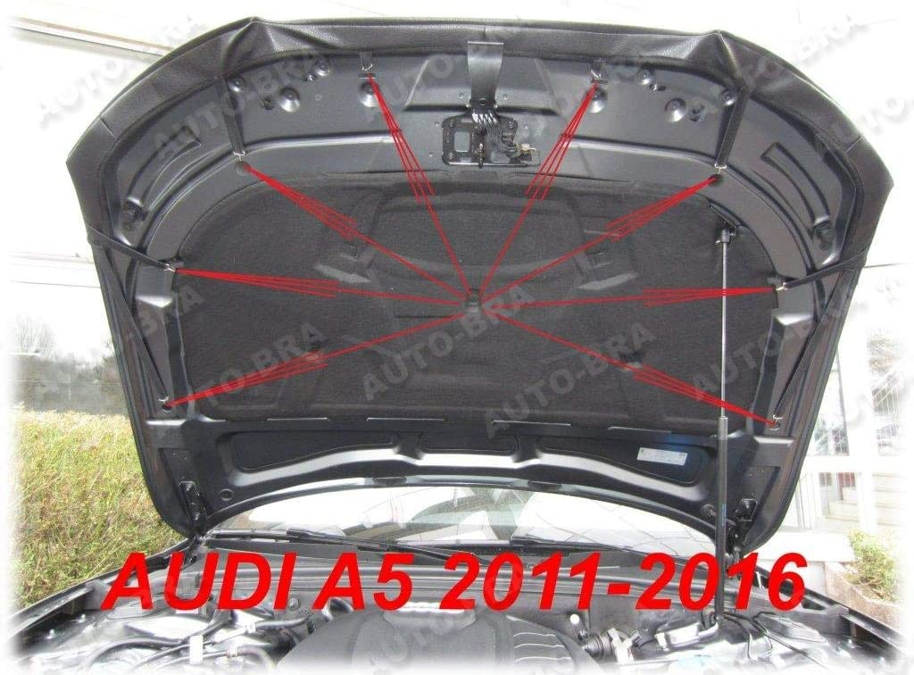 Hood Bra Front End Nose Mask for Audi A5 2011-2016 Bonnet Bra STONEGUARD Protector Tuning