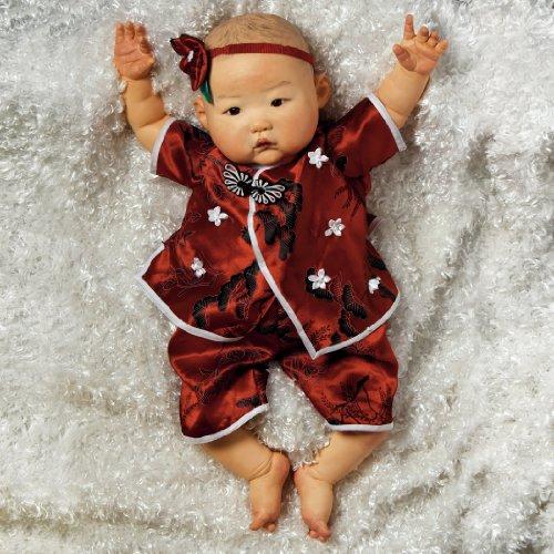 Paradise Galleries Lifelike Asian Reborn Baby Doll Mei 20