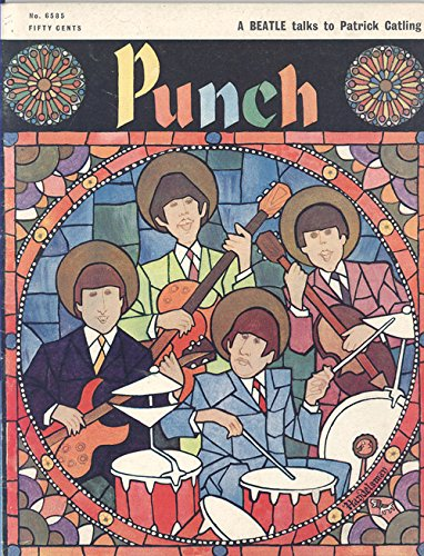Punch Magazine November 23, 1966 (Beatles Cover)
