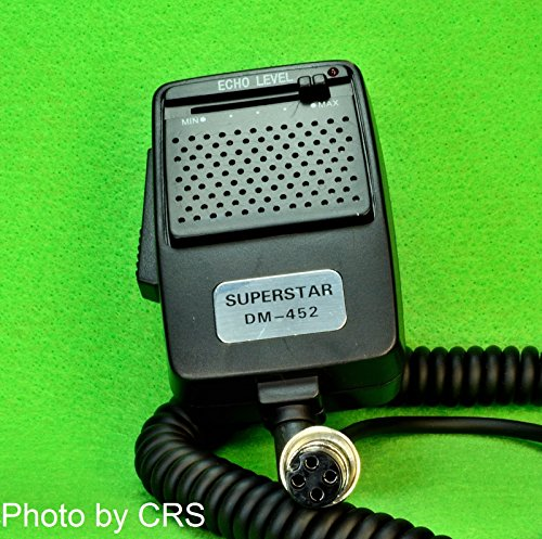 [해외]CB Radio ECHO 파워 마이크 4 핀 플러그 - Workman DM452/CB Radio ECHO   Power Mic   Microphone with 4 pin plug - Workman DM452