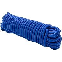Cuerda expansora 20 m Azul 8mm Cuerda elástica Cuerda elástica Cuerda de tensión Cuerda de Lona Cuerda elástica tensión…